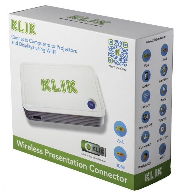 KLIK Boks CLASSIC Streaming Media Device