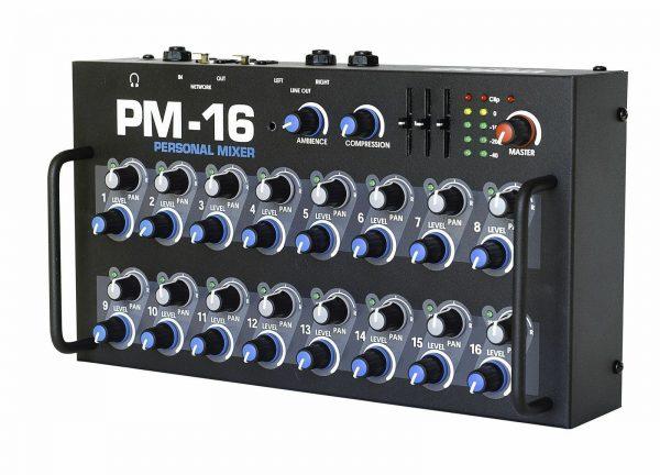 Elite Core PM-16 16 Channel Personal Monitor Mixer