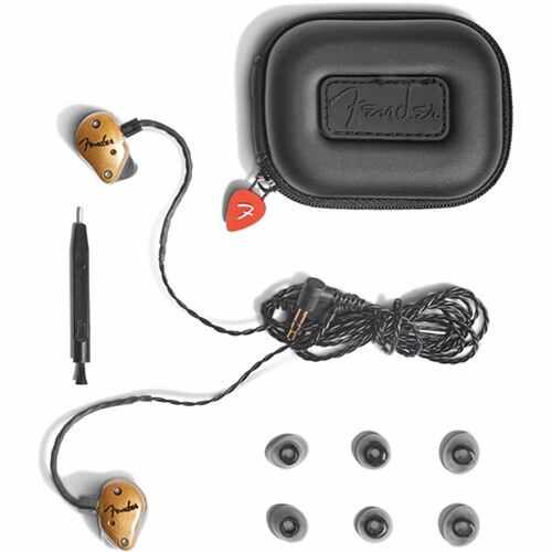 Fender FXA7 Pro In-Ear Monitors (Gold)