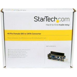 Startech IDE2SAT25 Ide 40 Pin Female/SATA Adapter – New