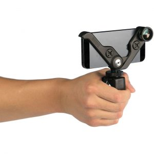 RODEGrip+ 5C MULTI-PURPOSE MOUNT AND LENS KIT FOR IPHONE 5 & IPHONE 5S