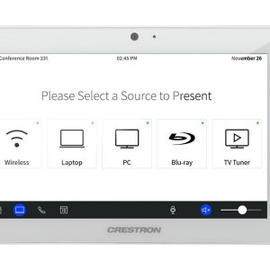 TSW-760-W-S  Crestron 7 in. Touch Screen, White Smooth