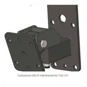 Turbosound WB-55 Wall Bracket for TXD-151 (2 pack)