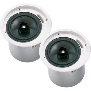 EV EVID C8.2 8″ Ceiling Speaker Pair