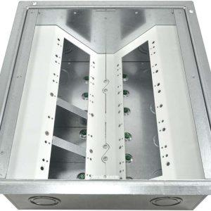 FSR FL-640-6-B Floor Box