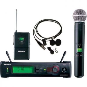 Shure SLX124/85/SM58-J3 Wireless Microphone System