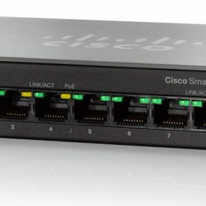 CISCO SF100D-08P-NA CISCO SYSTEMS 8-PORT 10/100 POE DESKTOP SWITCH