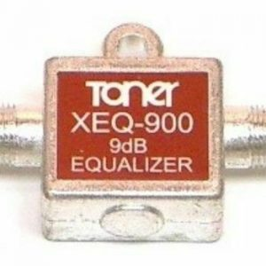 XEQ-900-9 TONER 1 GHZ MINIATURE IN LINE EQUALIZERS 9DB