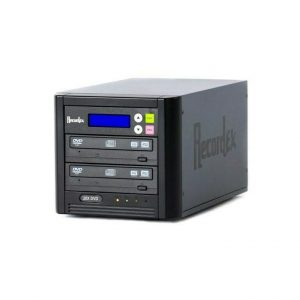 RECORDEX DVD700 TECHDISC PRO DVD DUPLICATOR (7) 20X/48X DVD/CD RECORD DRIVES