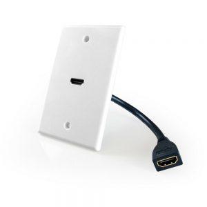 COMPREHENSIVE WP-HM1PT WALLPLATE HDMI 1 PORT PASS-THRU