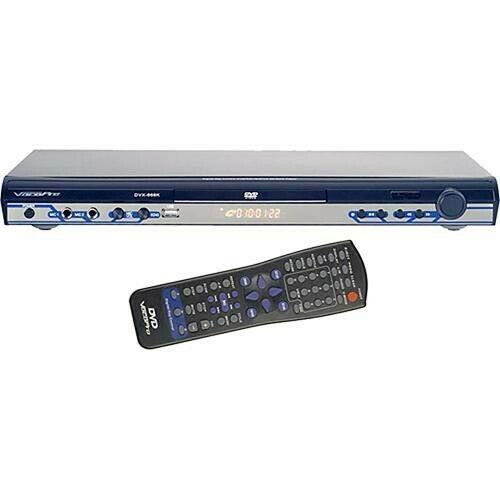 DVX-668K – VOCOPRO PLAYER DVD MULTI-FORMAT USB/DVD/CD+G KARAOKE