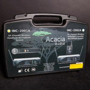 Acacia Audio IMC-2001A Affordable Wireless Handheld Microphone System