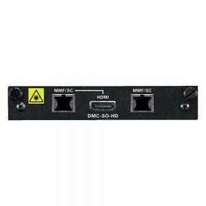 CRESTRON DMC-SO-HD 2-CHANNEL DIGITALMEDIA 8G FIBER OUTPUT CARD FOR DM SWITCHERS