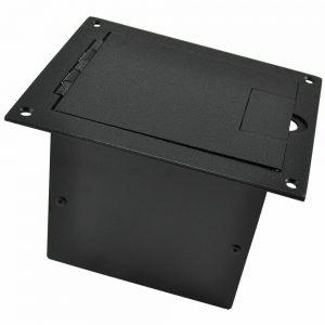 FSR FL-1200-BLK FSR FLOOR POCKET BLACK