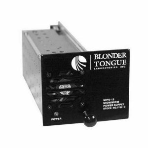 MIPS-12C / BLONDER TONGUE MODULAR CHASSIS POWER SUPPLY HE-12 SERIES