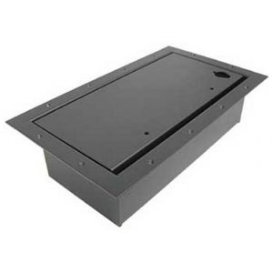 ACE BACKSTAGE DOUBLE WIDE POCKET/CARPET LID – BLACK 124-CL-BK