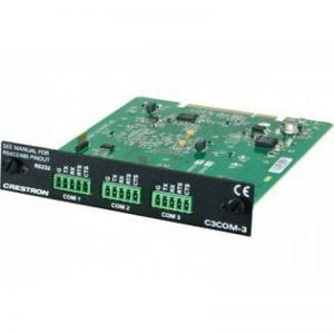 C3COM-3 CRESTRON 3 PORT RS-232/422/485 CARD