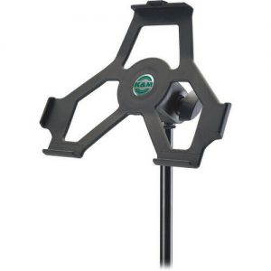 K&M 19712B IPAD2 MIC STAND HOLDER, BLACK