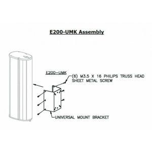 COMMUNITY E200-UMKW COMMUNITY ENTASYS 200 UNIVERSAL MOUNTING KIT WHITE